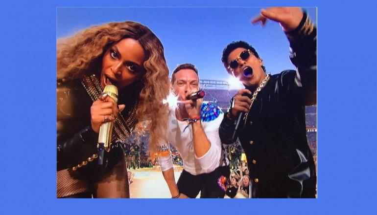 Beyonce, Chris Martin, And Bruno Mars
