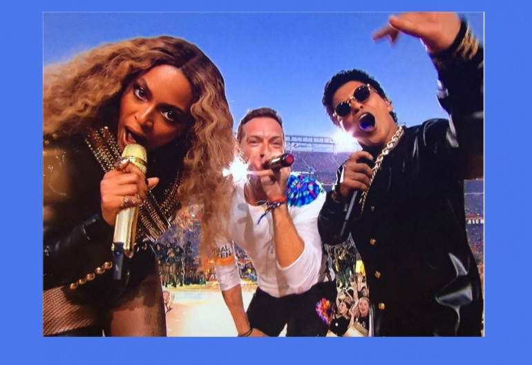 Beyonce, Chris Martin, And Bruno Mars