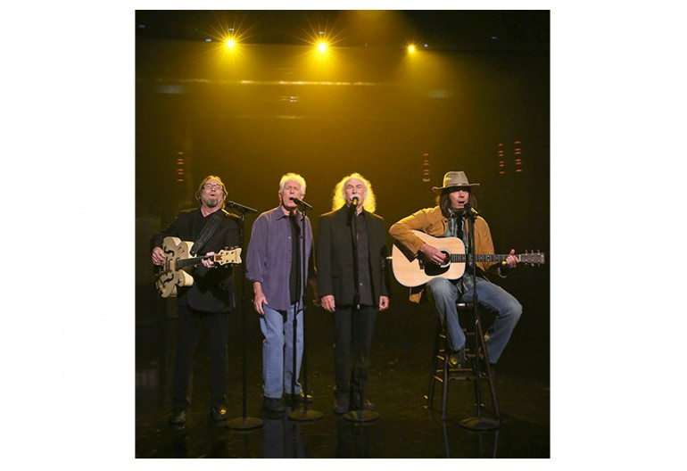Jimmy Fallon's Neil Young With Crosby Stills, & Nash