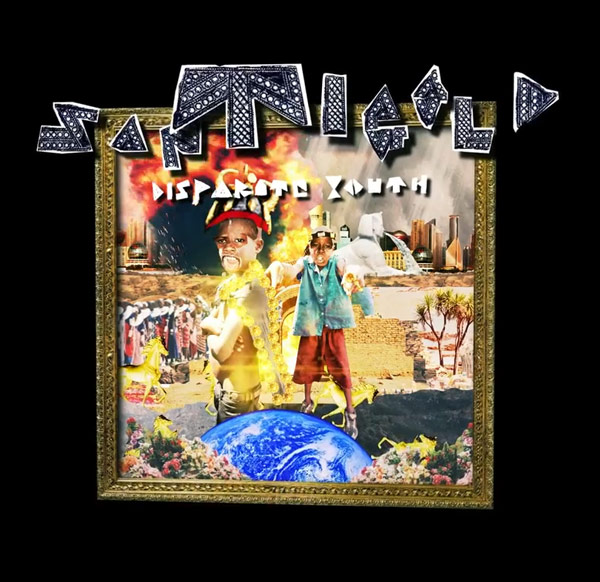"Santigold ""Disparate Yout"" Downtown/Atlantic Records"