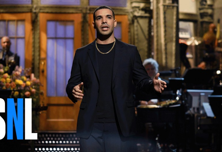 Drake on SNL NBC