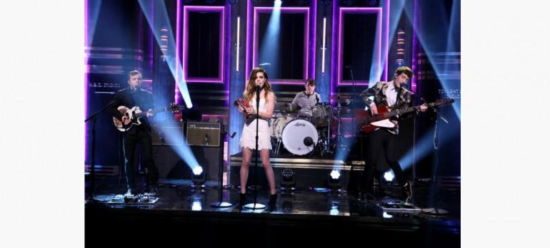 Echosmith Performing On The Tonight Show Starring Jimmy Fallon
