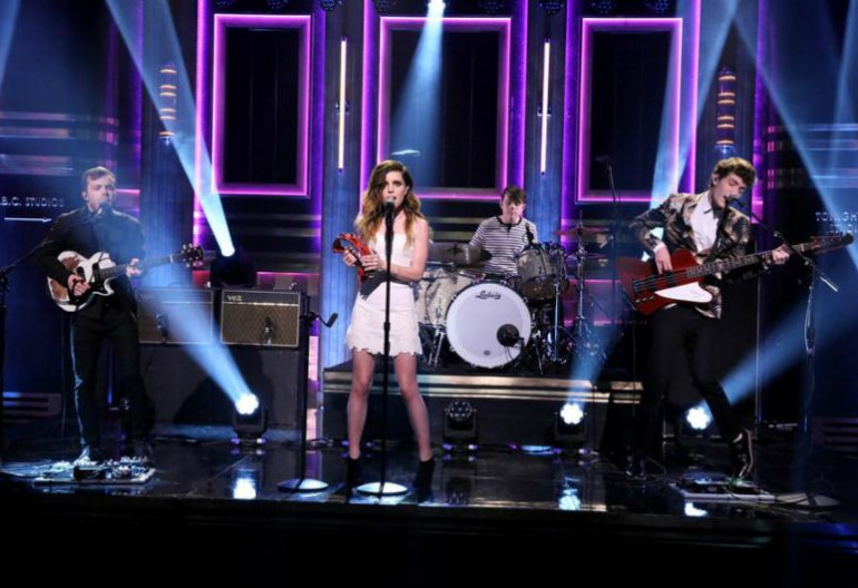 Echosmith Performing On The Tonight Show Starring Jimmy Fallon