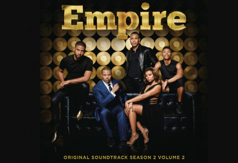 """Empire"" Season 2 Vol 2 cover via Columbia Records"