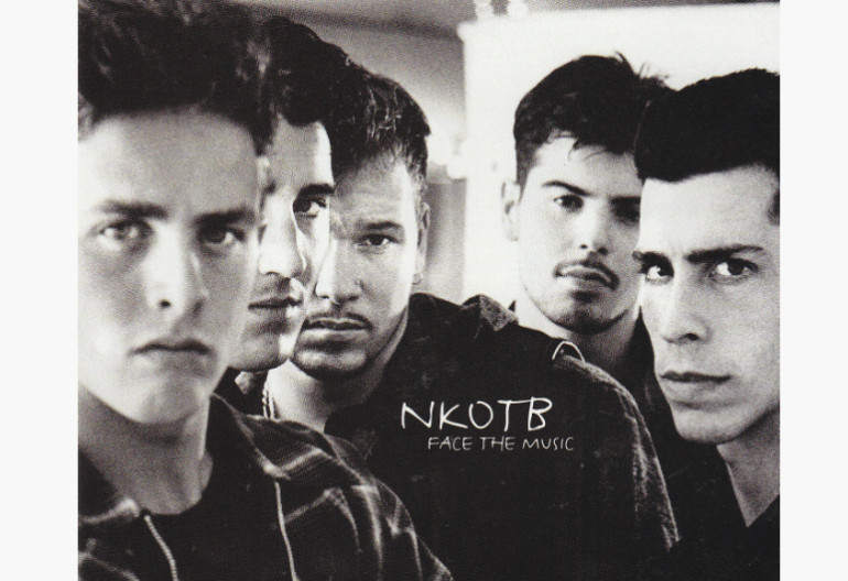 "New Kids On The Block ""Face The Music"" Columbua Records"
