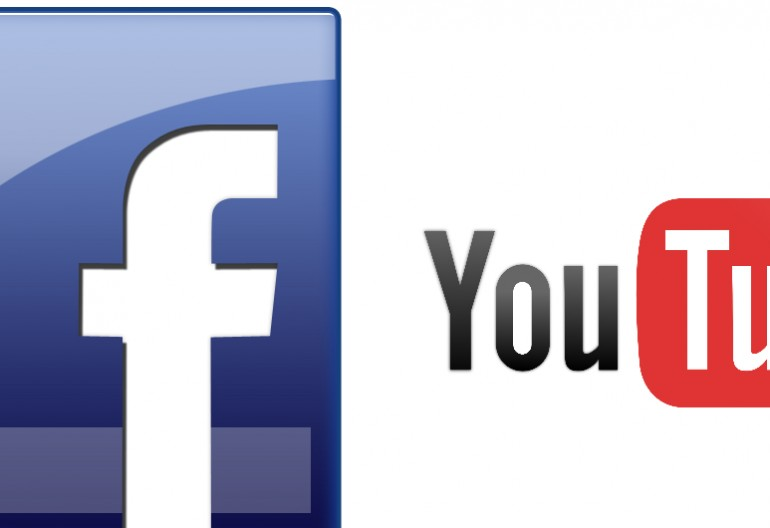 Facebook/ You Tube logos