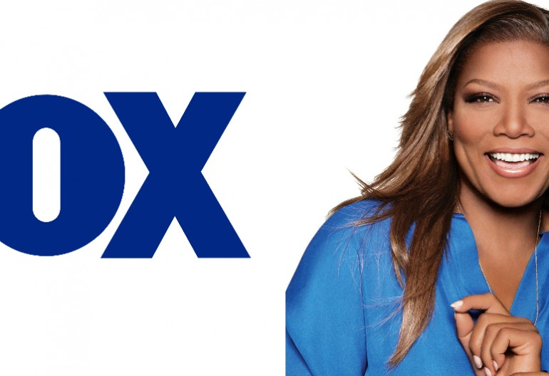 Queen Latifah With The Fox logo