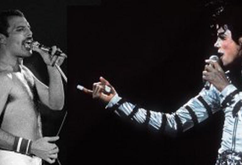 Freddy Mercury/Michael Jackson