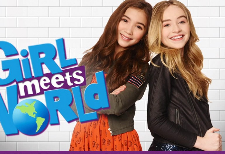 """Girl Meets World"" Promo Image Disney Channel"