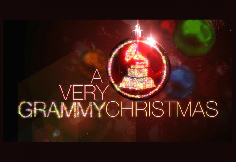A Very Grammy Christmas Logo