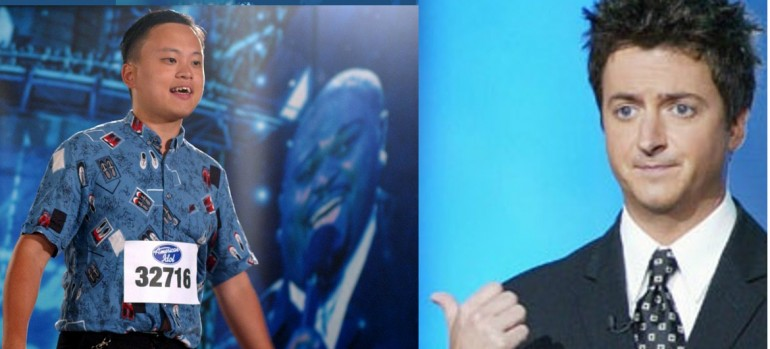 William Hung/Brian Dunkleman on American Idol
