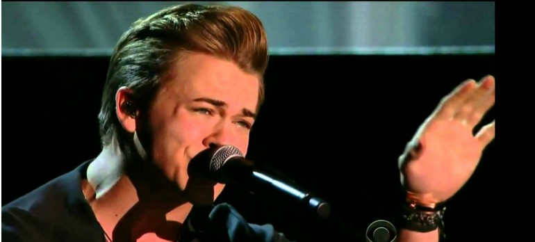 "Hunter Hayes Performing ""Invisible"" at the 2014 Grammy Awards"