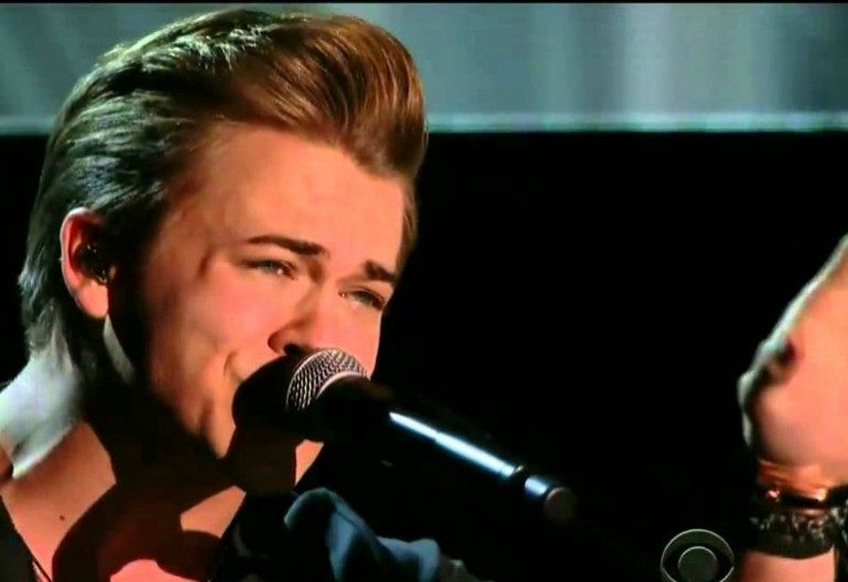 """Hunter Hayes Performing """"Invisible"""" at the 2014 Grammy Awards"""