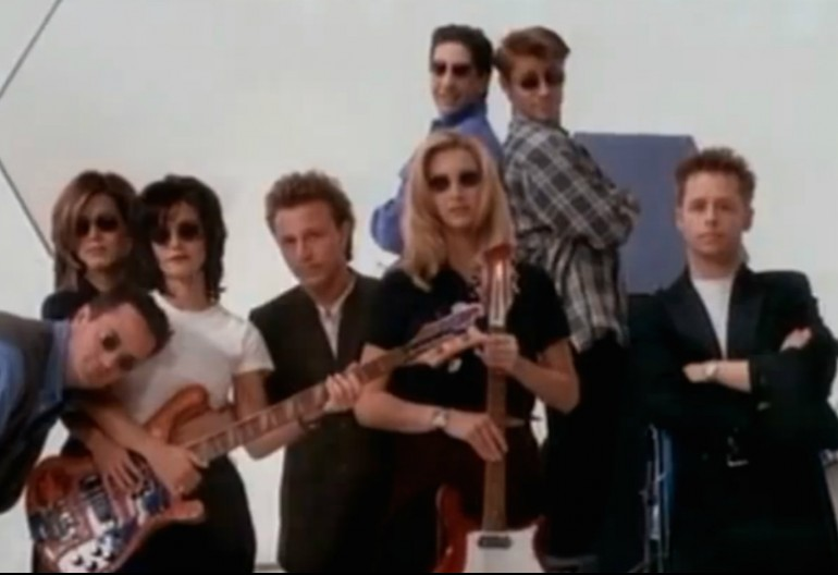 """Video Still From """"I'll Be There For You"""" By The Rembrants Eastwest Records"""