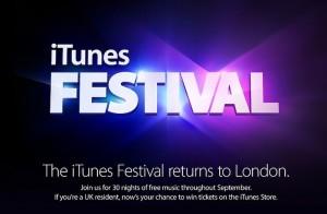 iTunes Music Festival 2013 Logo
