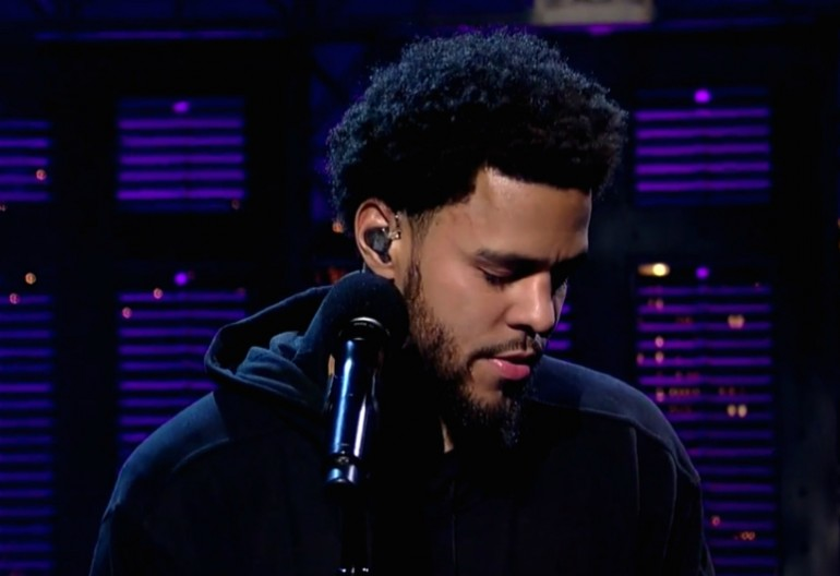 J COle On Late Night With David Letterman