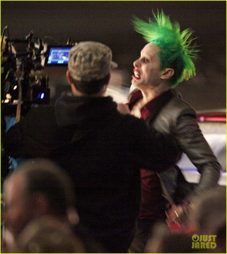 DISCUSSION What does Jared Leto use in his Joker hair