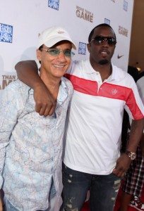 """Jimmy Iovine Chairman of Interscope Records, Sean """"Diddy"""" Combs"""