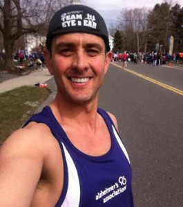 Joey McIntyre Of New Kids On The Block At Boston Marathon