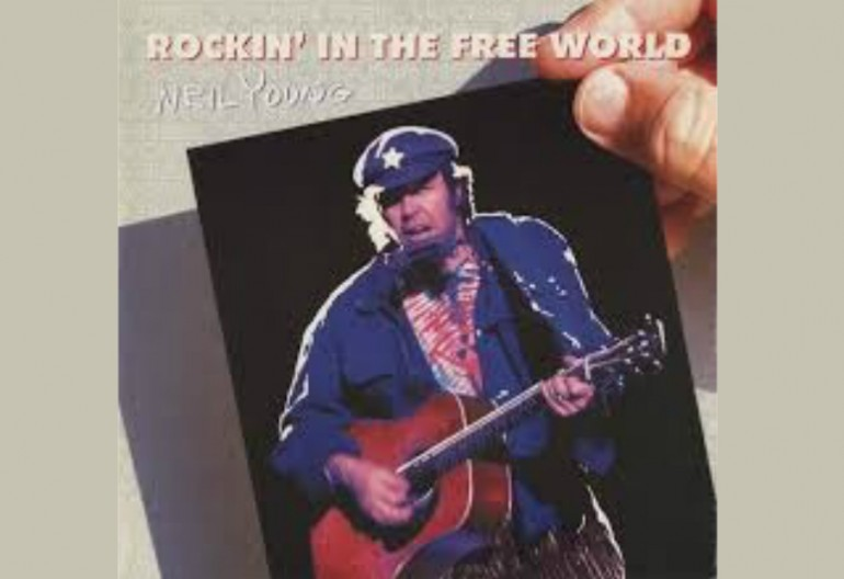 "Neil Young ""Rockin' In The Free World"" Reprise Records"