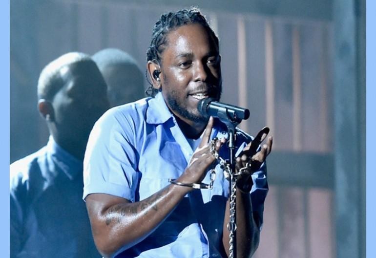 Kendrick Lamar At 2016 Grammys