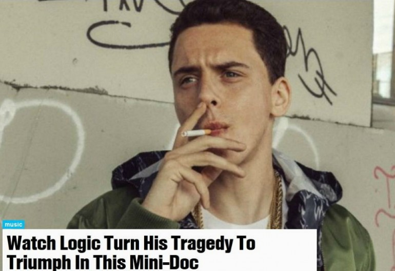 Video Still of Logic From MTV News