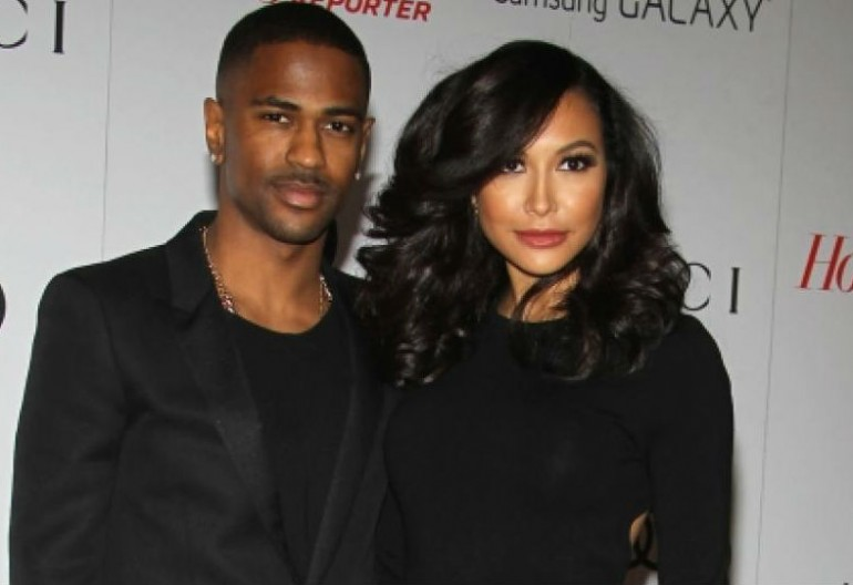Naya Rivera and Big Sean during happier times.  Credit: NewYorkDailyNews.Com