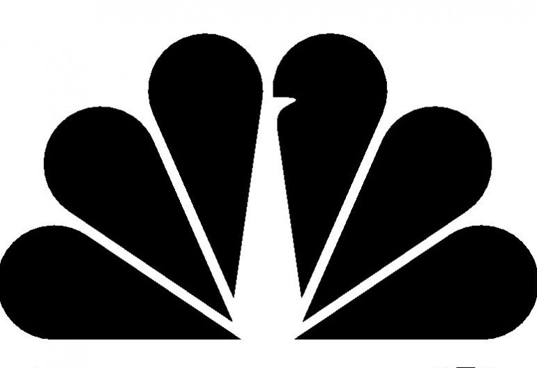 black NBC logo