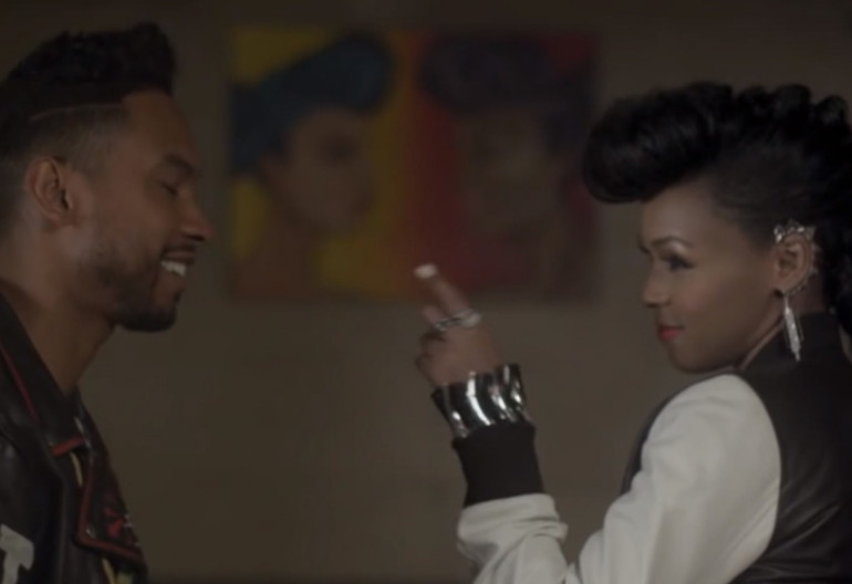 "Janelle Monae And Miguel In ""PrimeTime"" Music Video"