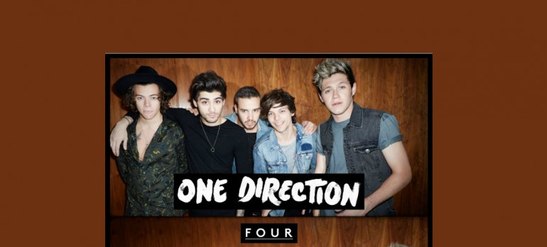 "One Direction ""Four"" Syco Music/Columbia Records"