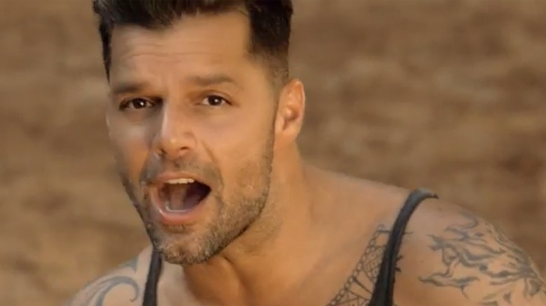"Ricky Martin In ""Vida""Music Video"