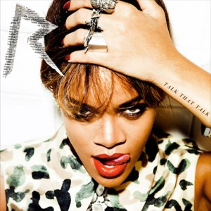 "Rihanna's Official Album Art For ""Talk That Talk"""