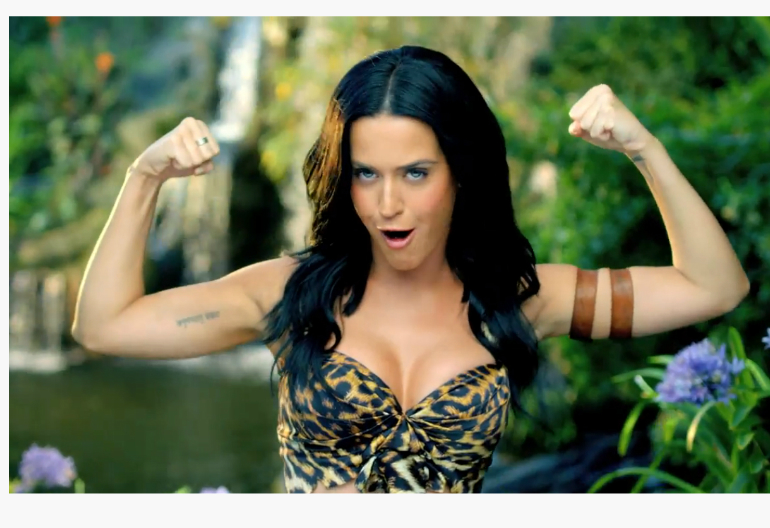 Video Still From Katy Perry's Roar Music Video