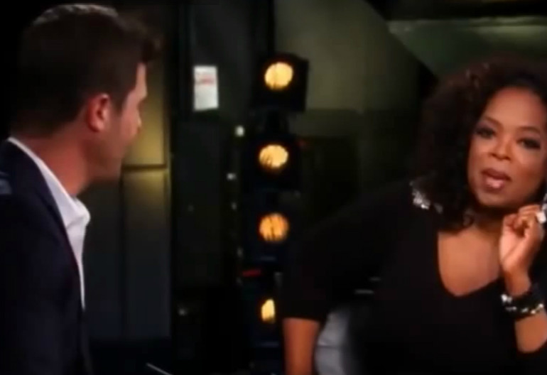 Video Still Of Robin Thicke On Oprah's Next Chapter