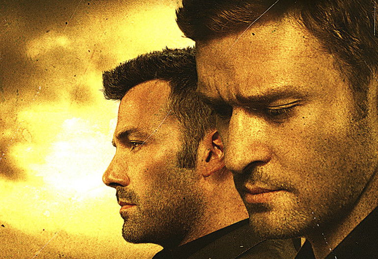 "Justin Timberlake And Ben Affleck In ""Runner Runner"" 20th Century Fox"