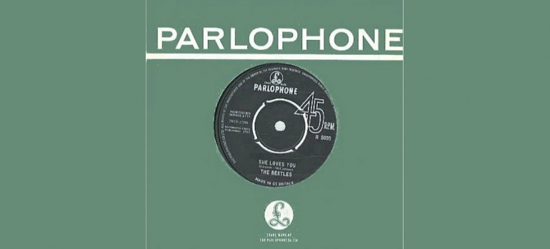 "The Beatles ""She Loves You"" Capitol Records"
