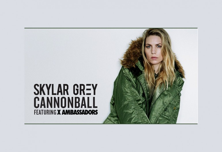 "Skylar Grey ""Cannonball Featuring  X Ambassadors ""Cannonball"" KIDInAKorner/Interscope Records"