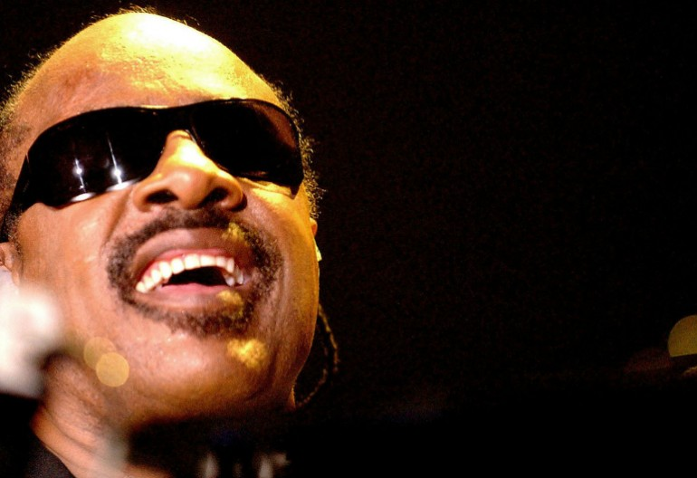 Stevie Wonder At The 2014 Grammy Awards