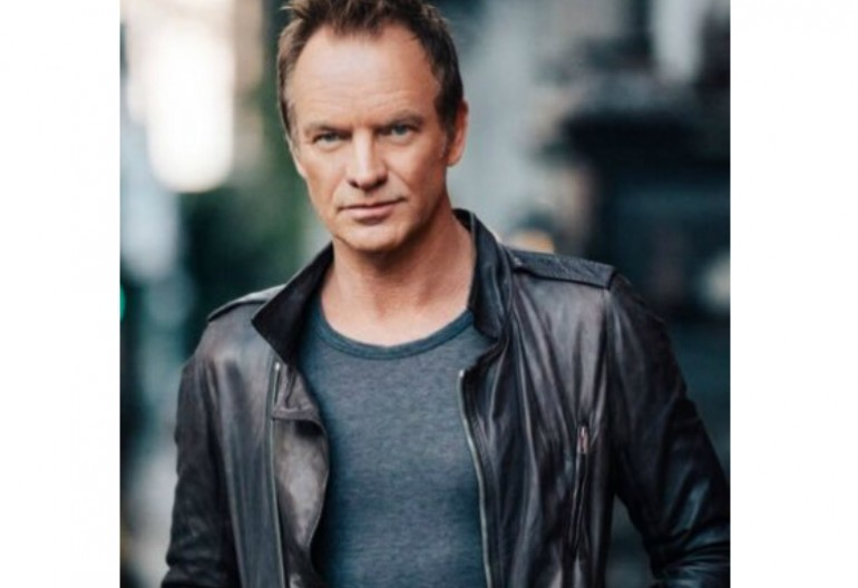 Sting: Image Via American Music Awards