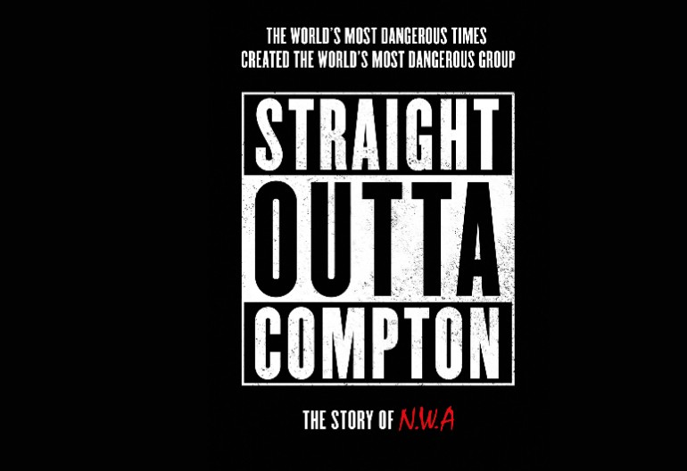 Straight Outta Compton Movie poster Via Universal Pictures