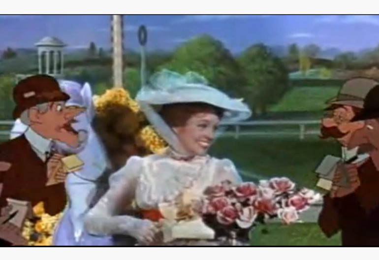 "Video Still From ""Marry Poppins"" Walt Disney Productions"