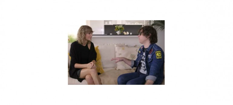 Taylor Swift With Ryan Adams on GQ Interview