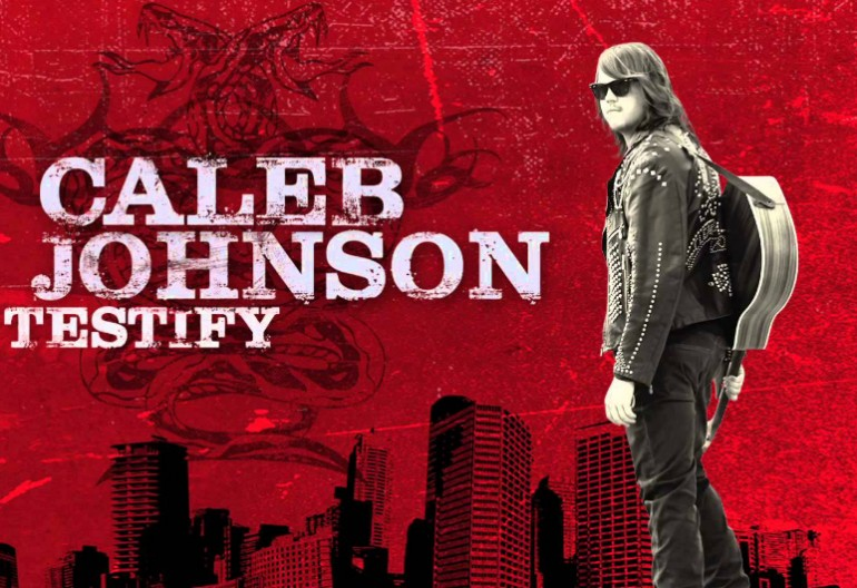 "Caleb Johnson""Testify"" 19/Interscope Records"