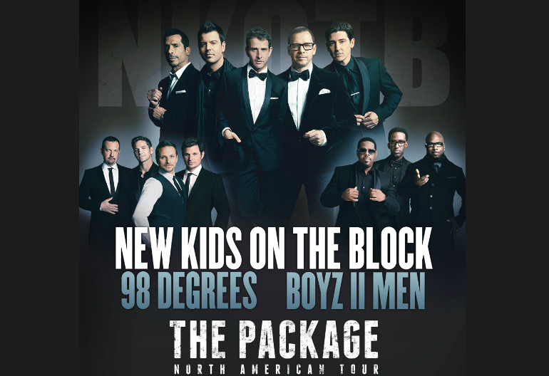 New Kids On The Block, Boyz II Men, 98 Degrees
