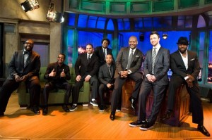 The Roots On The Set Of NBC's Late Night With Jimmy Fallon