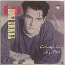 """Tommy Page's """"Paintings In My Mind"""" album 1990 Sire/Warner Bros. Records"""
