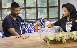 "Usher With Oprah Winfrey On ""Oprah's Next Chapter"" on OWN"