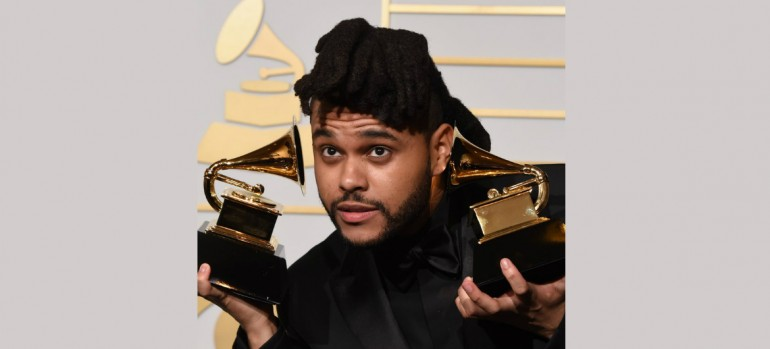 The Weeknd At The Grammys