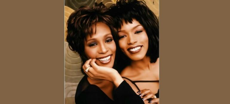 Whitney Houston With Angela Bassett