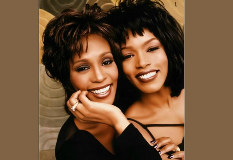 Whitney Houston With Angela Bassett